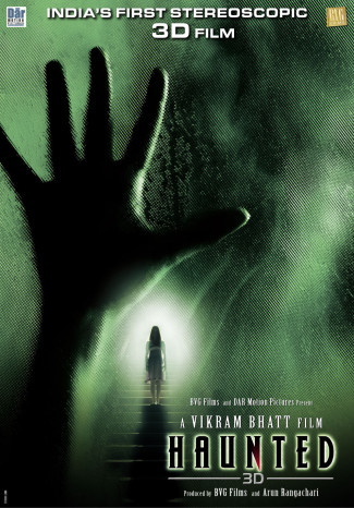haunted 3d poster