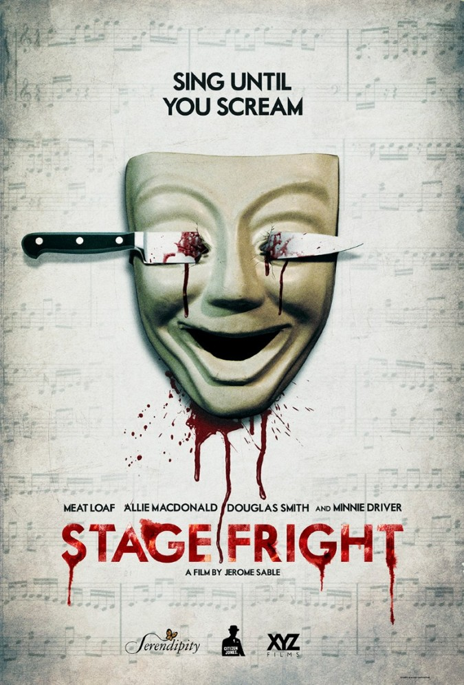 stage fright art work
